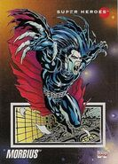 Michael Morbius (Earth-616) from Marvel Universe Cards Series III 0001