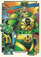 Wolfgang von Strucker (Earth-616) from Mike Zeck (Trading Cards) 0001