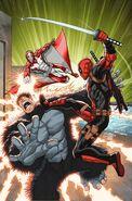 Deadpool & the Mercs for Money Vol 1 3 Lim Variant Textless