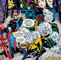 Brotherhood of Chaos (Earth-295) from Amazing X-Men Vol 1 1 0001