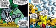 Doctor Doom's Armor, Doomstadt, Victor von Doom, Vortex Machine (Earth-616) from Fantastic FOur Vol 1 200