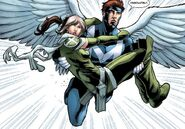 Rogue (Anna Marie) (Earth-616) and Calvin Rankin (Earth-616) from X-Men Legacy Vol 1 275