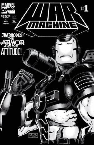 War Machine Vol 1 1