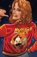 Howard the Duck Vol 6 9 Quinones Variant Textless