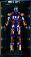 Iron Man Armor MK XXVII (Earth-199999)