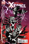 Uncanny X-Force Vol 2 1 Garney Variant