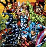 Avengers (Earth-60808) from Ultimate Avengers 2 Rise of the Panther 0001
