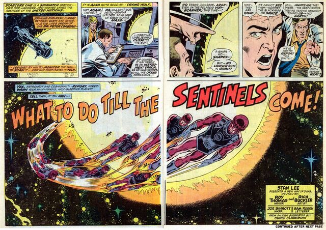 File:Avengers Vol 1 102 What to Do Till the Sentinels Come (Title Pages).jpg