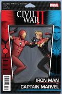Civil War II Choosing Sides Vol 1 1 Action Figure Variant