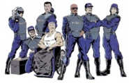 Code Blue (Earth-616) from Gamer's Handbook of the Marvel Universe Vol 8 001