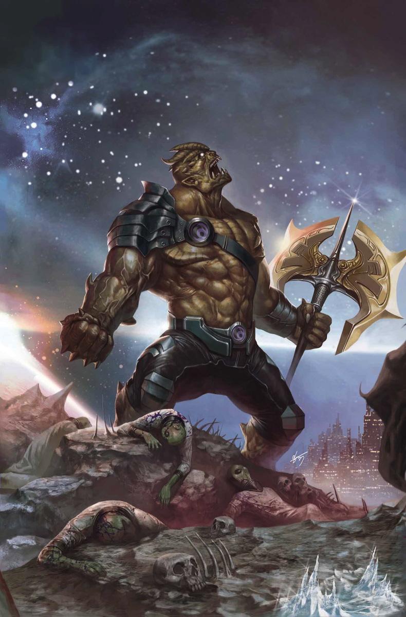Musuh Avenger Infinity War Black Dwarf black order