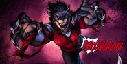 Nyssa (Earth-616) in werewolf form