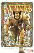 Runaways Vol 3 9 Wolverine Art Appreciation Variant