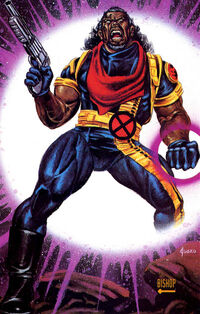 Lucas Bishop (Earth-1191) from Marvel Masterpieces Trading Cards 1992 0001