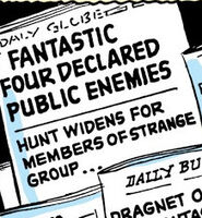 Fantastic Four Vol 1 2 page 05 Daily Globe