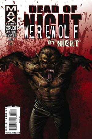 Dead of Night Featuring Werewolf by Night Vol 1 3
