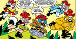 Awful Flight (Earth-8311) from Peter Porker, The Spectacular Spider-Ham Vol 1 6 0001