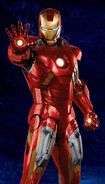 Iron Man Armor MK VII (Earth-199999) from Avengers poster 001