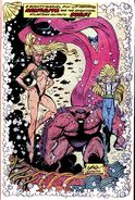 New Mutants Annual Vol 1 5 Pinup 4