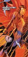 Hisako Ichiki (Earth-1610) from X-Men Blue Vol 1 4 001