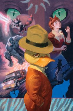 Howard the Duck Vol 6 6 Quinones Variant Textless