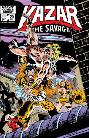 Ka-Zar the Savage Vol 1 20