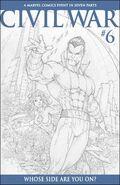 Civil War Vol 1 6 Sketch Variant