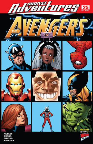 Marvel Adventures The Avengers Vol 1 25
