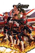 Revolutionary War Supersoldiers Vol 1 1 Textless