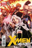 X-Men Legacy Vol 1 259 Bradshaw Variant