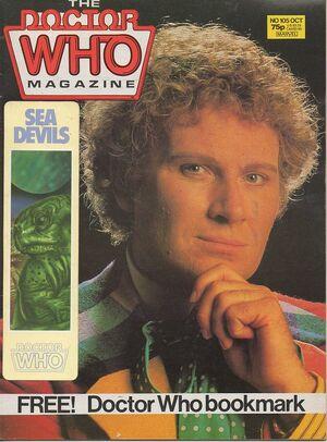 Doctor Who Magazine Vol 1 105