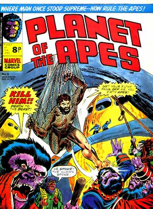 Planet of the Apes (UK) Vol 1 5