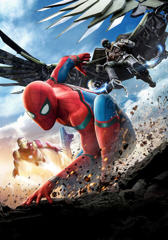 File:Spider-Man Homecoming poster 005 Textless.jpg