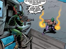 Ultimate Spider Man Vol 1 Issue7 Green Goblin Standoff