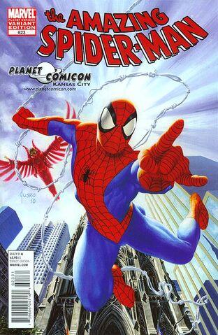 File:Amazing Spider-Man Vol 1 623 Planet Comic-Con Variant.jpg