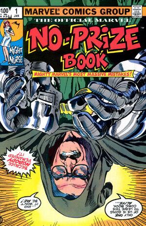 Marvel No-Prize Book Vol 1 1