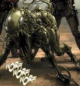 Lasher (War Dog) (Earth-616) from Carnage, U.S.A. Vol 1 2 0001