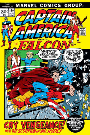 Captain America Vol 1 152