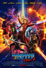 Guardians of the Galaxy Vol. 2 (film) poster 004