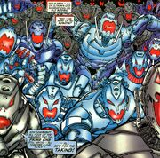 Ultrons (Earth-616) from Avengers Vol 3 22 001