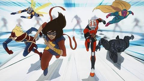 Ms. Marvel Marvel's Avengers Secret Wars Disney XD