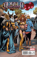 Angela Asgard's Assassin Vol 1 2 Welcome Home Variant