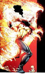 Phoenix Force (Earth-8020) from What If X-Men - Rise and Fall of the Shi'ar Empire Vol 1 1