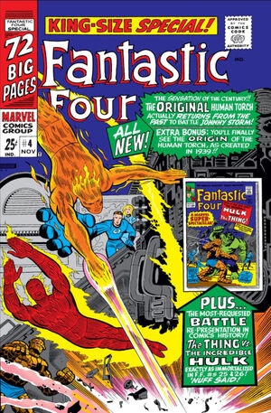 Fantastic Four Annual Vol 1 4