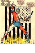 Nick Fury as the Super-Patriot from Nick Fury Agent of SHIELD Vol 1 13