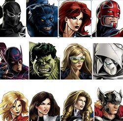 Secret Avengers (Earth-12131) Marvel Avengers Alliance