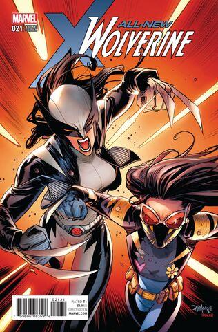 File:All-New Wolverine Vol 1 21 Mora Variant.jpg