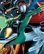 Doctor Spectrum (Earth-4290001) from New Avengers Vol 3 19 cover