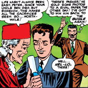 Peter Parker (Earth-616) graduates from High School from Amazing Spider-Man Vol 1 28