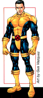 Paul Provenzano (Earth-616) from X-Men Earth's Mutant Heroes Vol 1 1